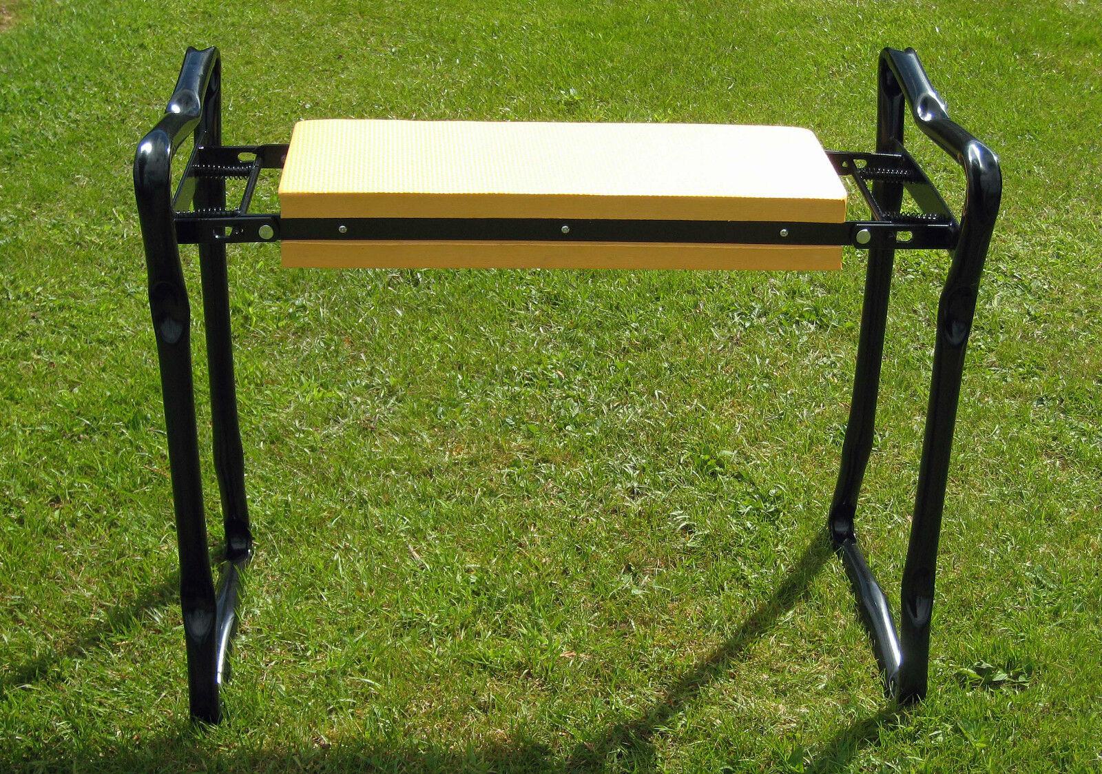 Garden Kneeler Seat Kneeling Pad Folding Kneeling Mats Garden Padded Stool Chair