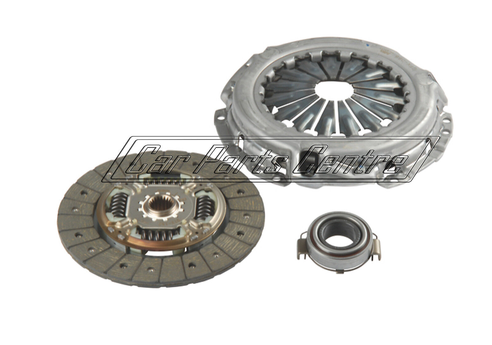 fits TOYOTA YARIS P2 1.4D 01 to 05 1ND-TV Clutch Kit 3pc Cover+Plate+Releaser