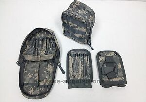 New-ACU-MOLLE-Leaders-Set-Pouch-Utility-Pouch-Admin-Pouch-US-Military-w-Inserts