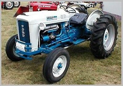Ford Tractor 5000 Service Parts Owners And Attachments Manuals Cd