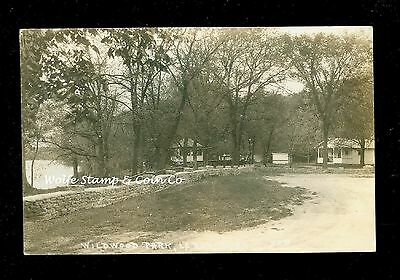 1939 RPPC Wildwood Park Leroy MN  A8910 ()