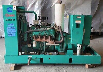 Onan 75kw 3 Phase 60kw Single Phase 480v277 208v 240 120 Natural Gas Generator