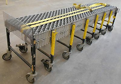 Best Flex 242 Length Portable Expandable Skate Wheel Roller Conveyor