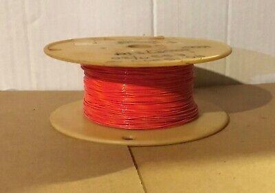 E22 Teflon Wire Redorange Awg 22 60 Ft. Length 730 Stranded Mil168784