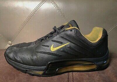 Nike Air Max Panoramic Gray/Yellow Trainers Rare 306503-001 Men's Size 11