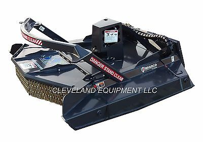 72 Bradco Extreme Duty Ground-shark Brush Cutter Attachment Track Loader Mower