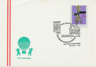 A 9010 KLAGENFURT 125 Jahre Österr. Briefmarke - 9. Bundesländer Briefmarkenaus