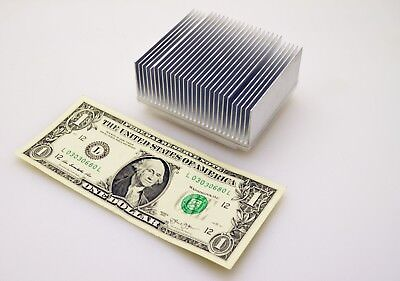 Aluminum Heat Transfer Heatsink 3.25l X 2.75w X 1.625h