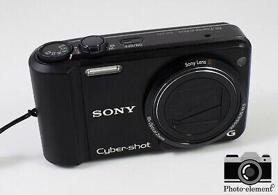 Sony Cyber-shot DSC-H70 16.1MP Compact Digital Camera - Black