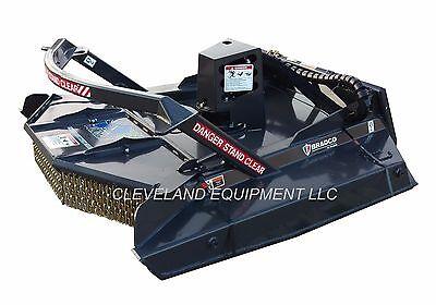 72 Bradco Extreme Duty Ground-shark Brush Cutter Attachment - Skid Steer Loader