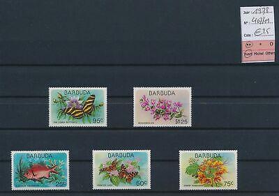 LO17186 Barbuda 1978 nature fauna flora fine lot MNH cv 25 EUR