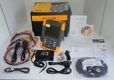 Fluke 435-ii Series Ii Power Quality Energy Analyzer New Open Box