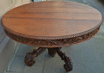 Esstisch Gründerzeit Jagd Tisch um 1860-1880 Ausziehbar auf 447 cm AusFrankreich
