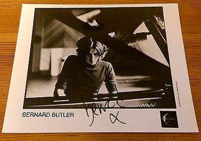Bernard Butler, post Suede, original rare signed photograph from 1998