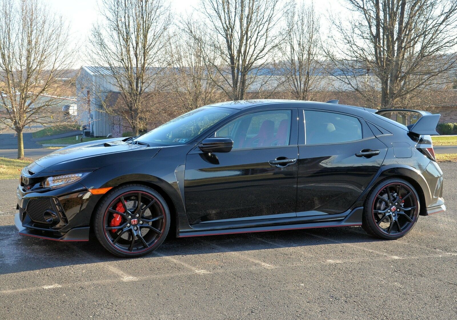 2018 Honda Civic Touring Type R Turbo 2018 Honda Civic Type R Touring Crystal Black Pearl 332 Miles Have Title No Tax!