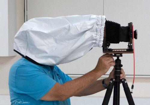 4x5 BTZS Focus Hood (dark cloth) - Large Format