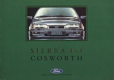 Sierra MK2 XR FORD Escort Cosworth RS NUOVO ORIGINALE Clip Paraurti anteriore.