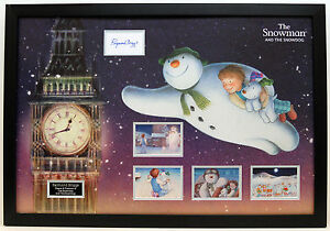RAYMOND BRIGGS Signed Autograph The Snowman FRAMED Display COA AFTAL