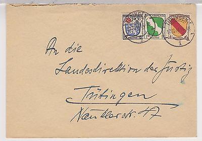 All.Bes./Franz.Zone/Allg.Ausg., Mi. 1,4,7, Tübingen, 12.10.46