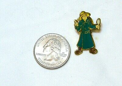 DETECTIVE WITH MAGNIFYING GLASS LONG GREEN COAT - Detective With Magnifying Glass