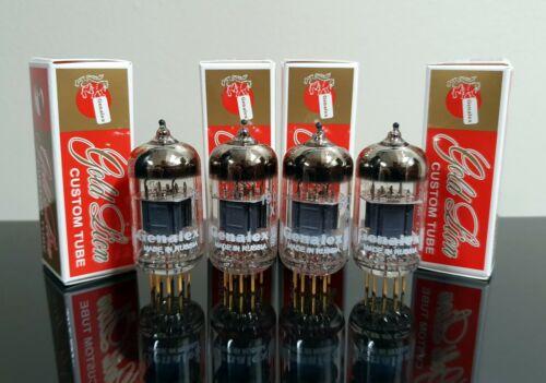 Matched Quad (4) Genalex ECC83/12AX7/CV4004 tubes Gold Pins - Russia