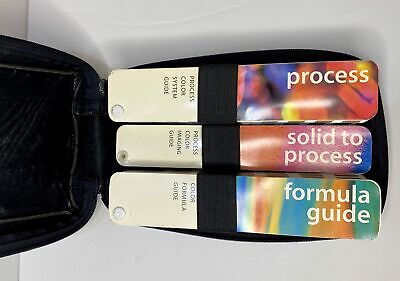 Pantone Color Swatch Kit Formula Guide Process Solid To Process Books