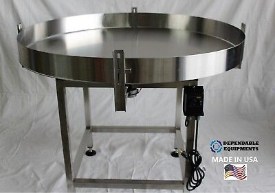 Dependable Equipments Accumulation Turntable 48 Diameter