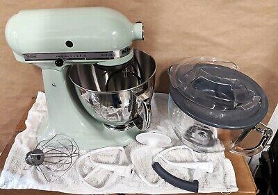 Kitchen Aid Artisan Series Mixer Model #KSM150PSPT Pistachio 5 QT - EXCELLENT!