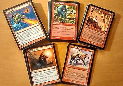 100x Rote Karten | Deutsch oder Englisch - Magic the Gathering