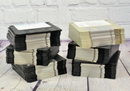 "Floppy disks 3.5"" 1.44MB Lot of 60 disks"