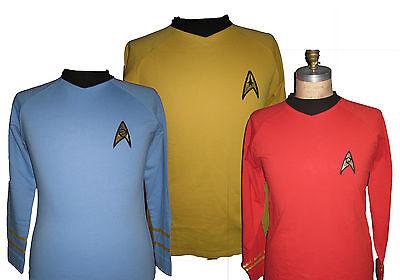 Star Trek Uniform Shirt original Serie 60er Kirk, Spock, Scotty (Original Star Trek Uniform)