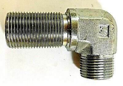 Weatherhead 4525x10  Hydraulic Steel Adapter Elbow 1-14 10 Connections
