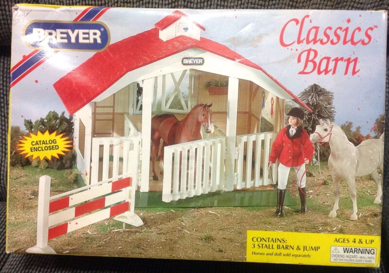 BREYER HORSE CLASSIC BARN - Still In Package And NOT ASSEMBLE!!!!!