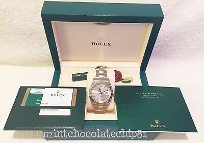 ROLEX DATEJUST II SS SILVER DIAMOND OYSTER MENS WATCH BRAND NEW PAPERS 116334