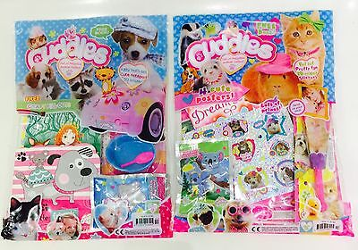 Cuddles Magazine X2 Gift Issues - AMAZING FREE GIFTS! (BRAND NEW!)