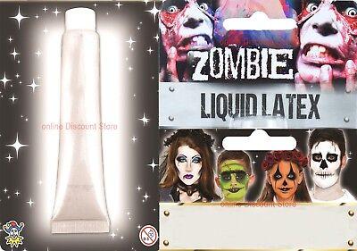 Flüssiger Latex Zombie Fleisch Narbe Effekt Horror Wunde Make-Up Halloween