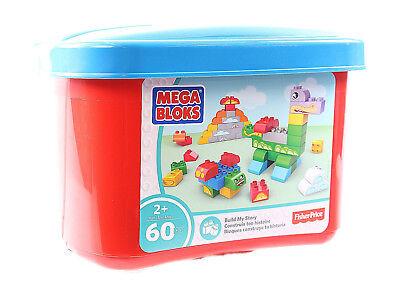 Fisher-Price Mega Bloks 60 stück Junior Baue nach deiner Fantasie Bausteine