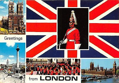 B87661 greetings from london military uk