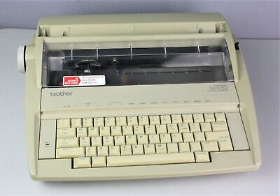 Brother Gx-6750 Correctronic Electronic Typewriter - No Cover - Needs Ribbons