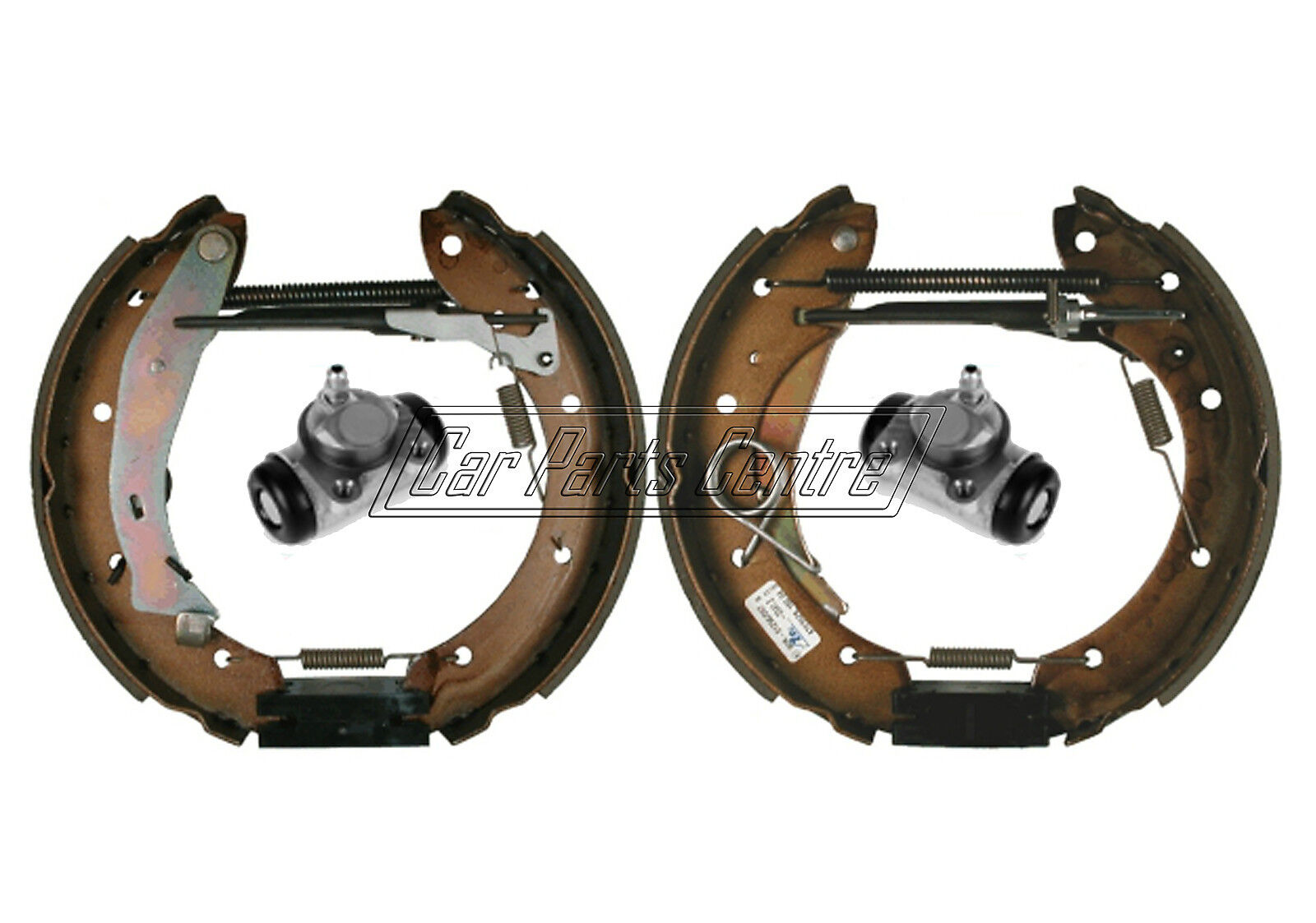 For citroen berlingo mf m rear brake shoes cylinders