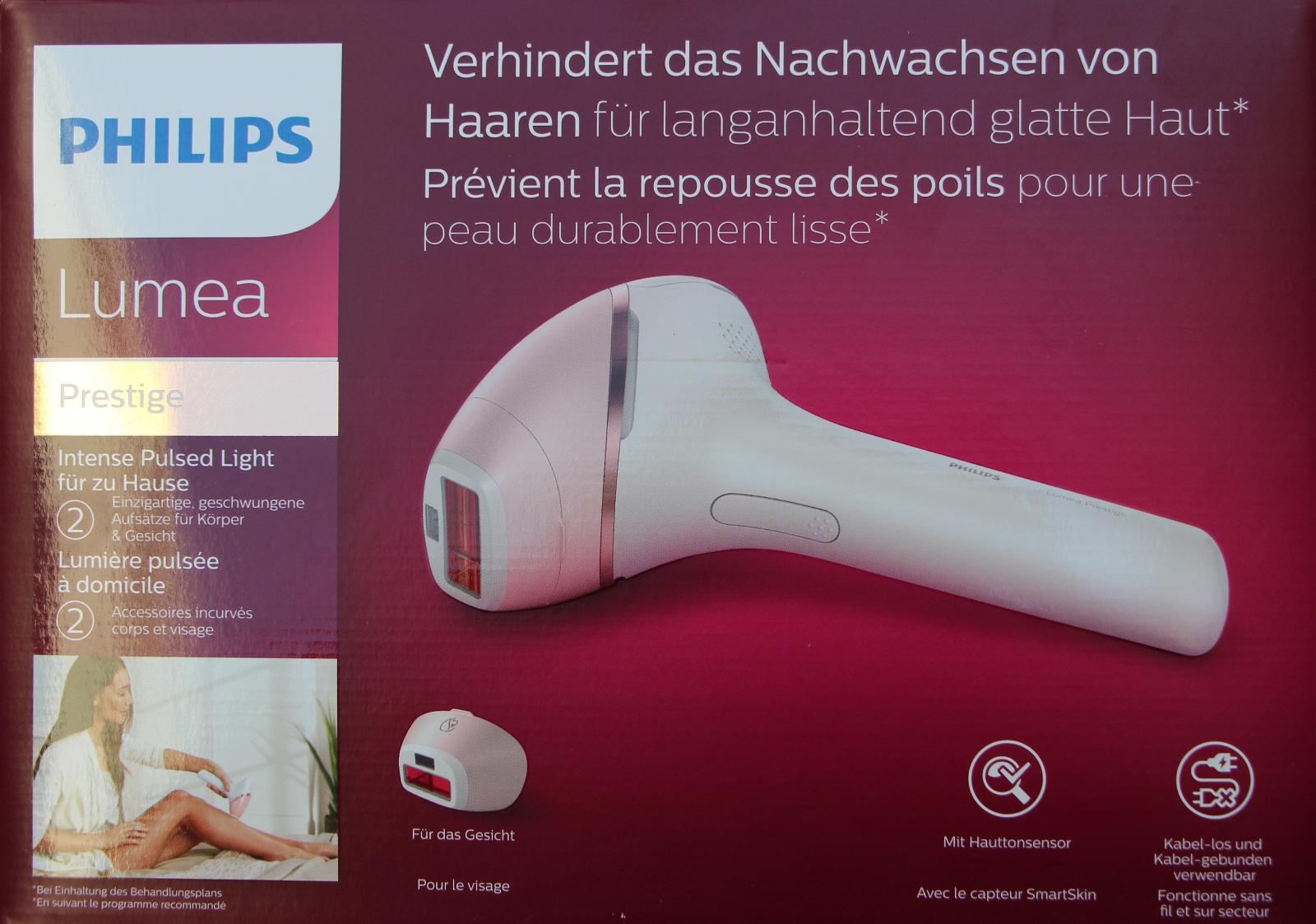 Philips BRI95000 Lumea Prestige IPL Haarentfernungsgerät Körper Gesicht - NEU