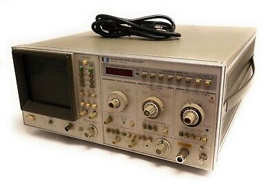 Hp 8569a Microwave Spectrum Analyzer 10mhz To 22ghz W Opt 001 Comb Generator