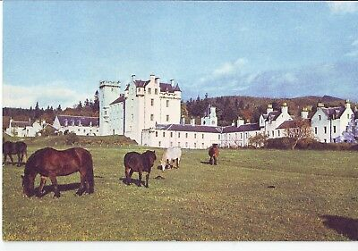 Old Postcard - Blair Castle from the South West - Unposted 0451