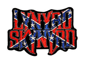 Lynyrd Skynyrd Flag Logo Music Embroidered Iron On Applique Patch p1948