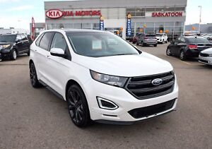 2015 Ford Edge Sport TURBO V6 - AWD - HTD/COOLED LEATHER