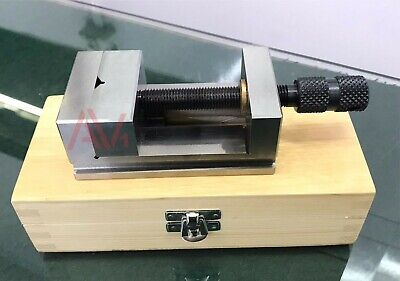 2-38 60mm Toolmakers Grinding Vise Precision Machine Vice With Wooden Box
