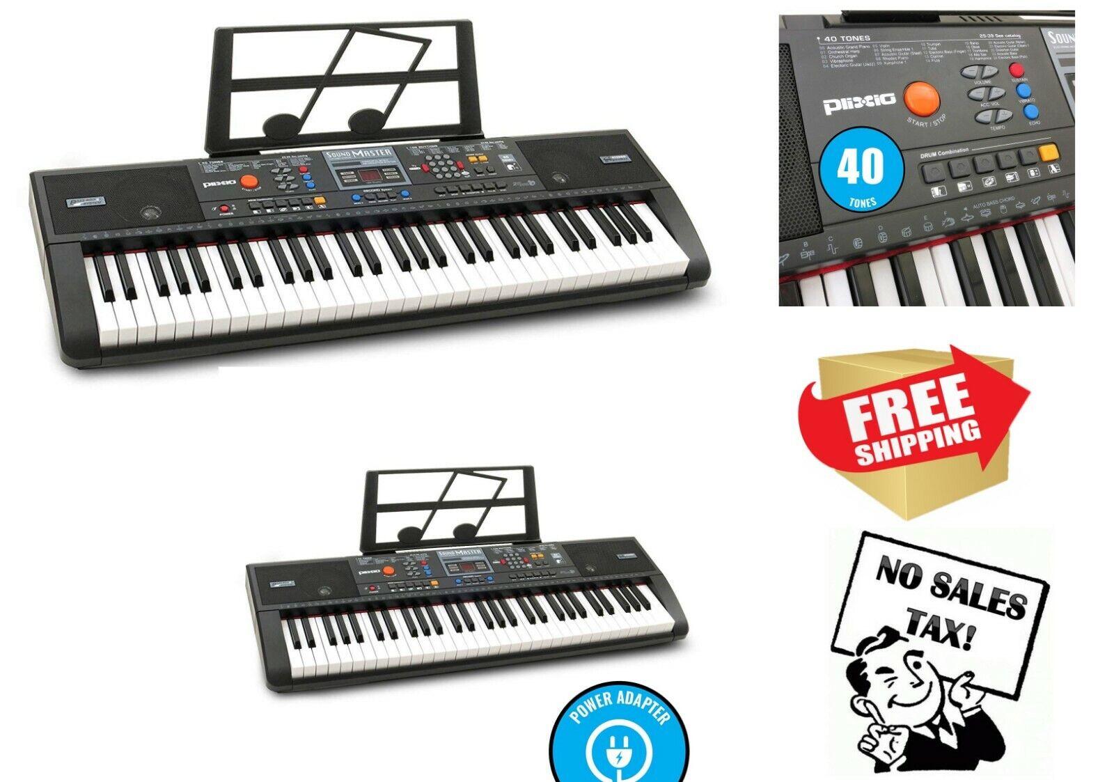 Digital Electric Piano Keyboard Sheet Music Stand Portable E