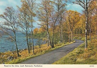 Postcard - Loch Rannoch - Road to the Isles