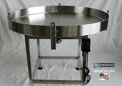 Dependable Equipments Accumulation Turntable 60 Diameter
