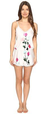 Kate Spade Rose Teddy Playsuit White Size M LF077 ii 29